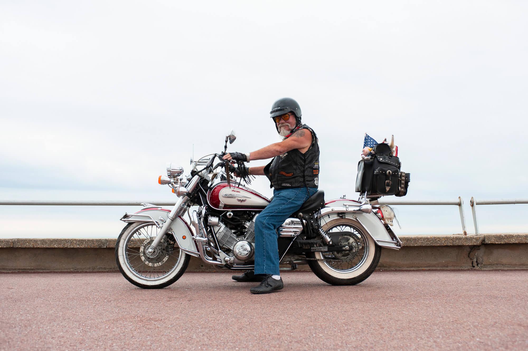 Là-bas / Biker du Touquet
